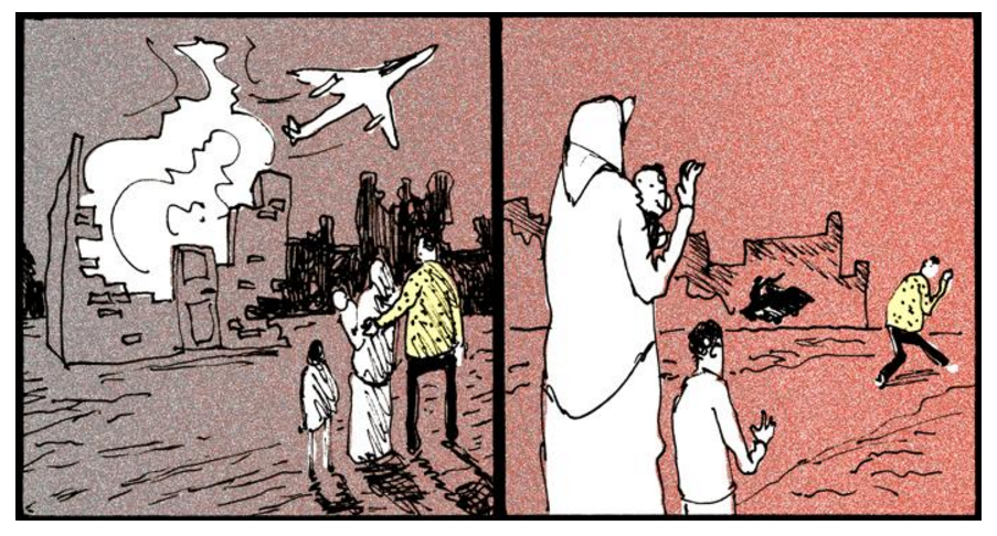 flygtningetegneserie